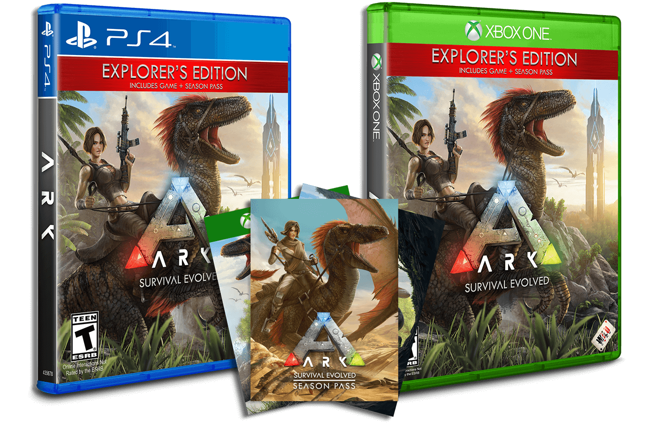 ARK: Survival Evolved - Available Now!
